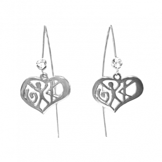 Love Earring Wire