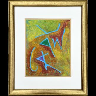 Framed Art of 'Israel'