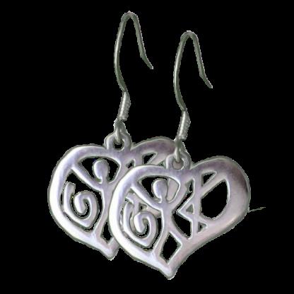 Love Earrings Fishhook