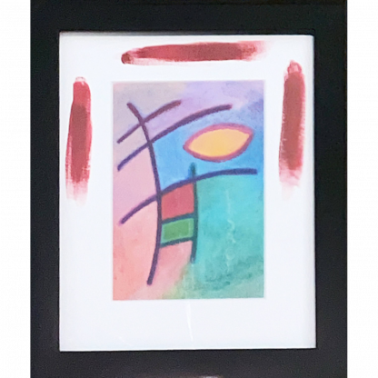 Passover with Black Frame